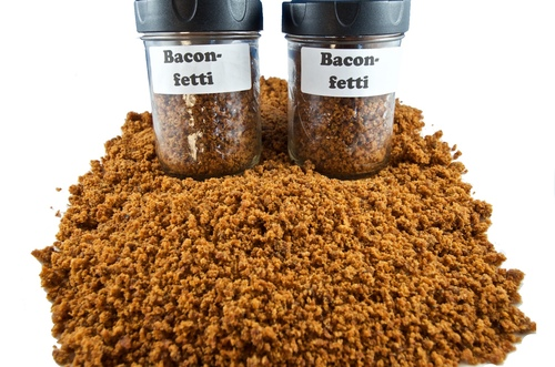 Bacon-Fetti - To shake on anything you want = Yums