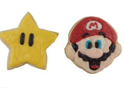 Mario and star