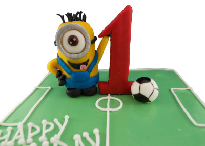 Ist birthday Minion Cake