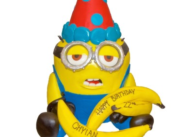 3D Birthday Minion