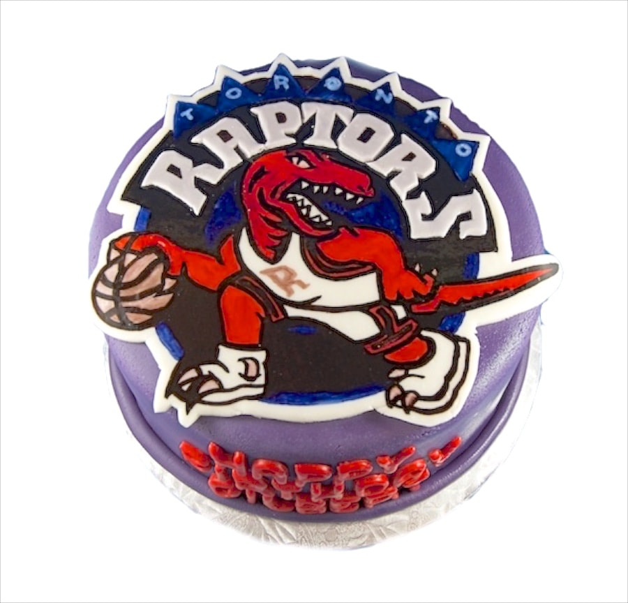 Raptors Cupcake Toppers And Toronto On Pinterest