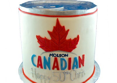 Molson Canadian Can Mens Cakes