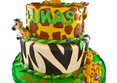 Safari Animals 2-Tier