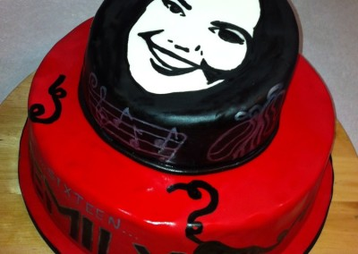 Your Face on Top Women's Cake