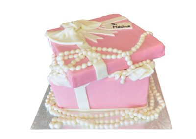Fancy Gift Box with Pearls