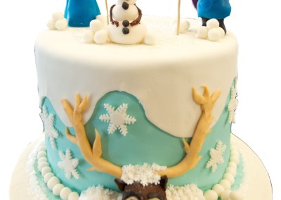 Frozen 4 Character Theme Cake