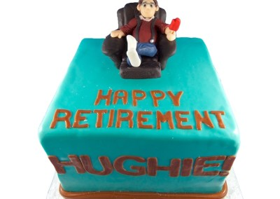 Relaxing Lazyboy Retirement Mens Cakes