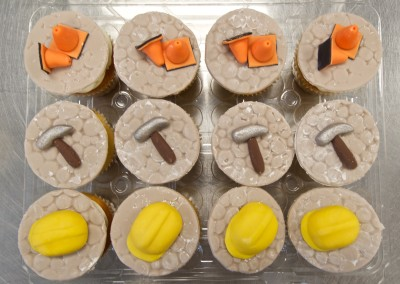 Road Construction Theme Cupcakes