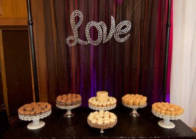 Love of Cake and Cupcakes Wedding Table