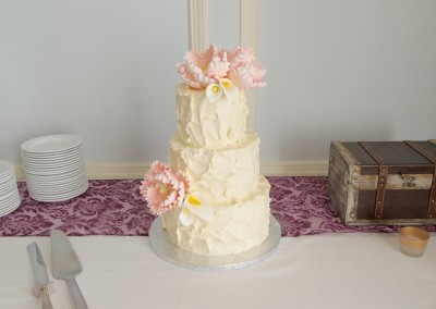 Rustic Buttercream and Peonies