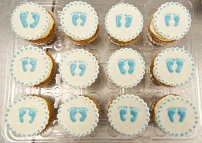 Baby Feet Shower Cupcake toppers