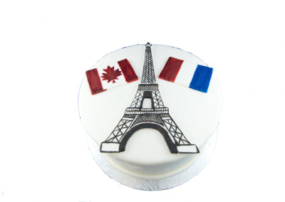 Welcome to Canada Family Celebration Cake