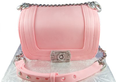 Chanel Pink Purse