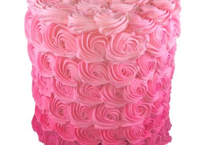 Tall Pink Ombre Roses