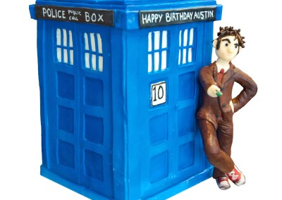 Dr Who and Tardis Favourite Cakes