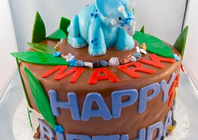 Triceratops Birthday