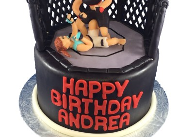 UFC Fighting Cake