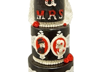 Mr & Mrs True Love Cake